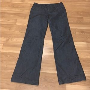 Gap The Trouser stretch  blue size 2 long